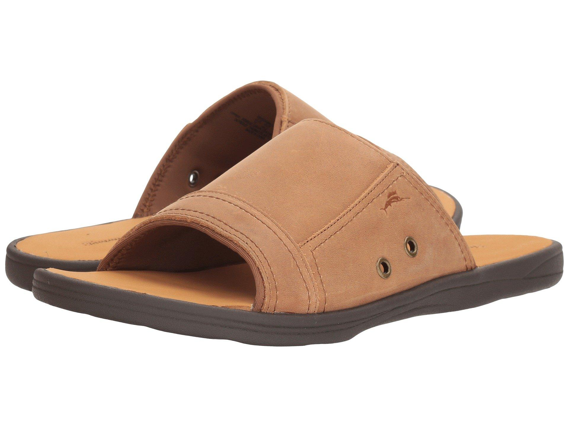 ec854bf9ccb632 Tommy Bahama Seawell Slide In Tan