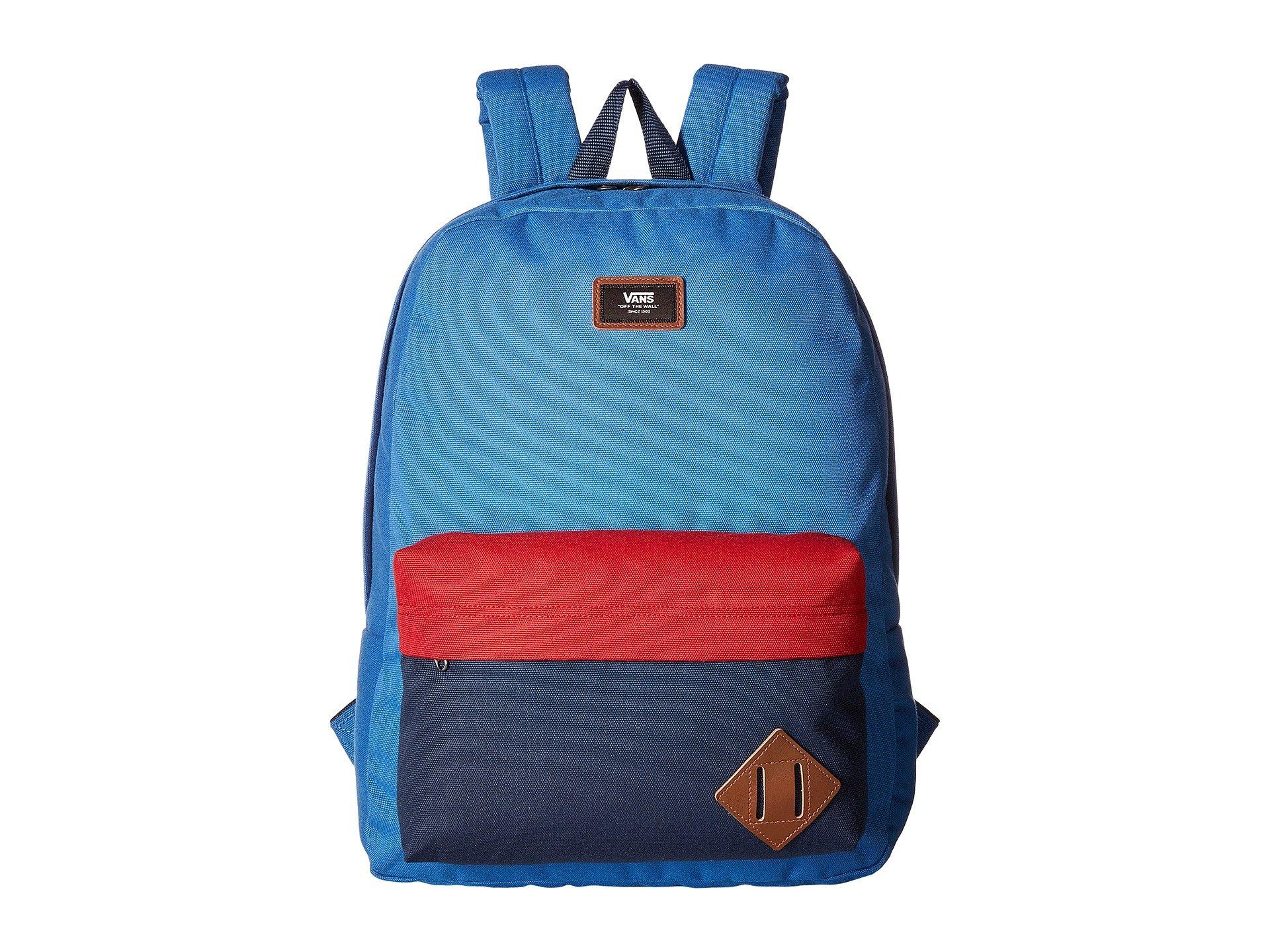 4c7af9795b Vans Old Skool Ii Backpack In Delft Color Block