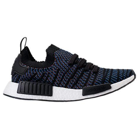 27138c04c55a3 Adidas Originals Adidas Women s Nmd R1 Stlt Primeknit Casual Sneakers From Finish  Line In Black