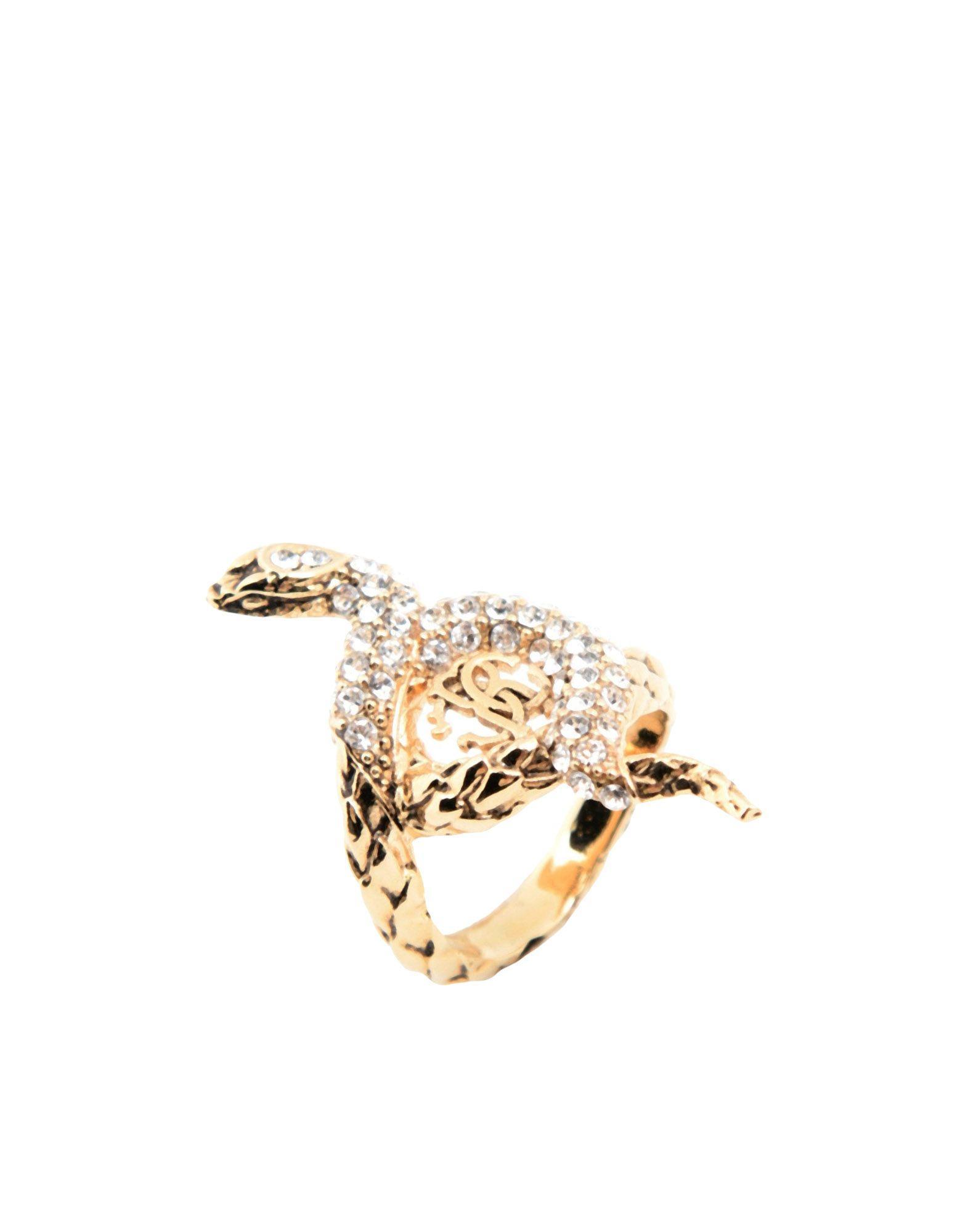 Roberto Cavalli Rings In Gold