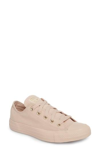 07db65dc1bf5f0 Converse Women s Chuck Taylor Ox Casual Sneakers From Finish Line In  Particle Beige