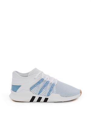 quality design bd141 f0630 Adidas Women's Eqt Racing Adv Casual Sneakers From Finish Line in  White/Blue/Black