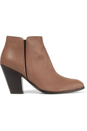 Giuseppe Zanotti Woman Leather Ankle Boots Brown