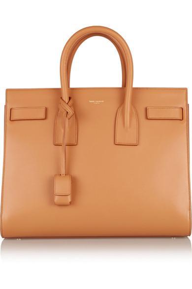 Saint Laurent Sac De Jour Small Carryall Bag, Dark Beige In Brown