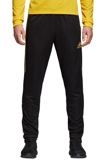 Adidas Originals Adidas Men's Tiro Metallic Soccer Pants In Black/Gold