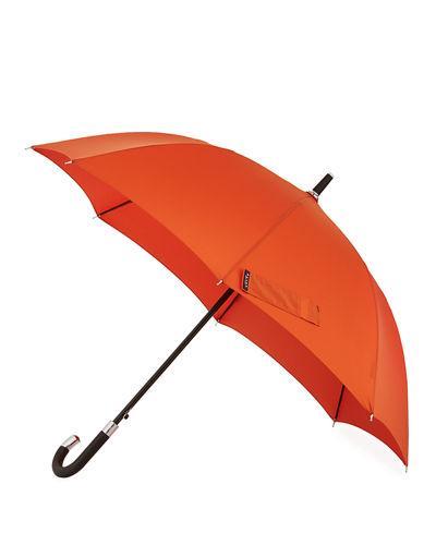 326edd3b1 Davek Elite Cane Umbrella, Black, Rust | ModeSens