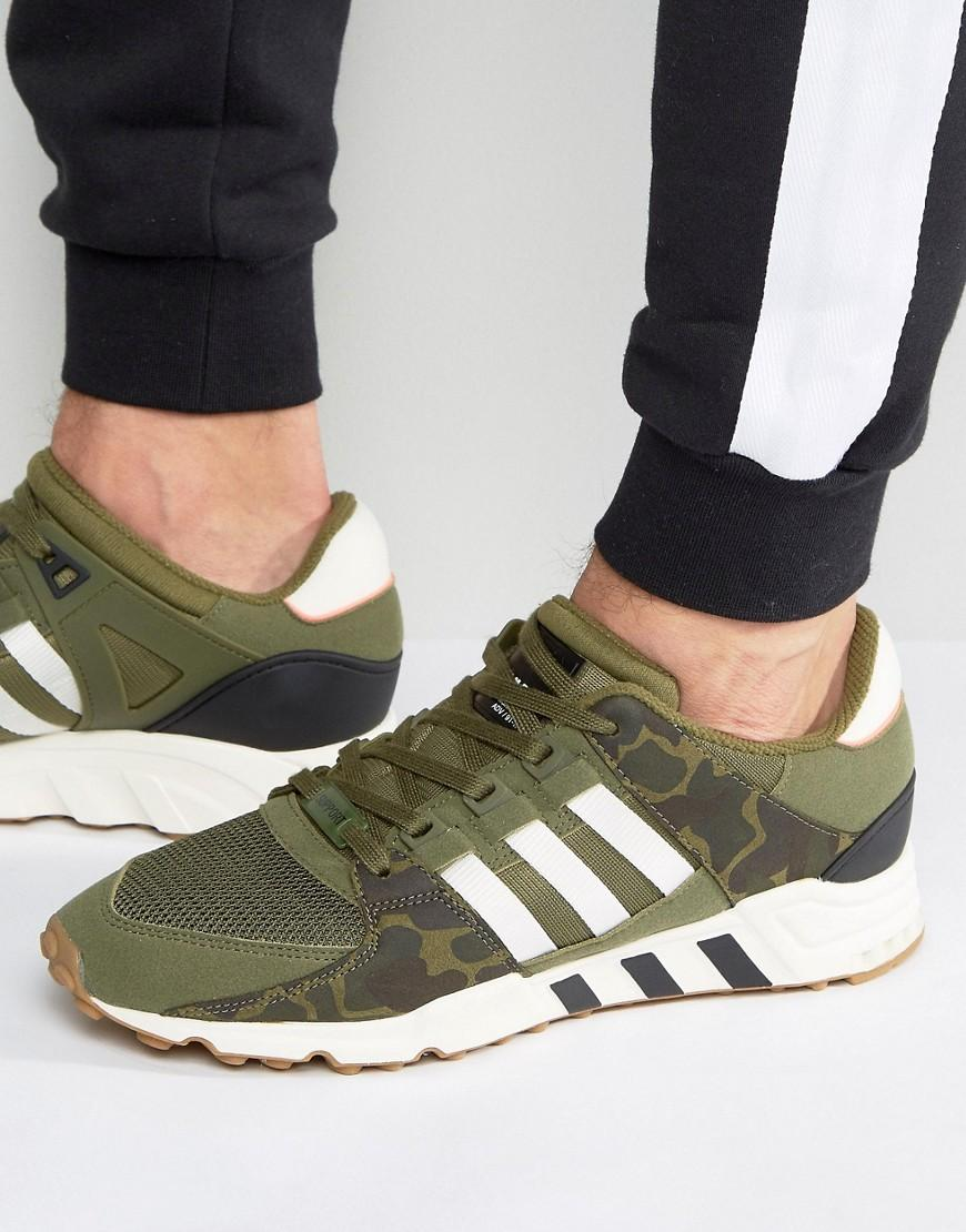 new concept 3b2e8 91928 Eqt Support Rf Sneakers In Green Bb1323 - Green