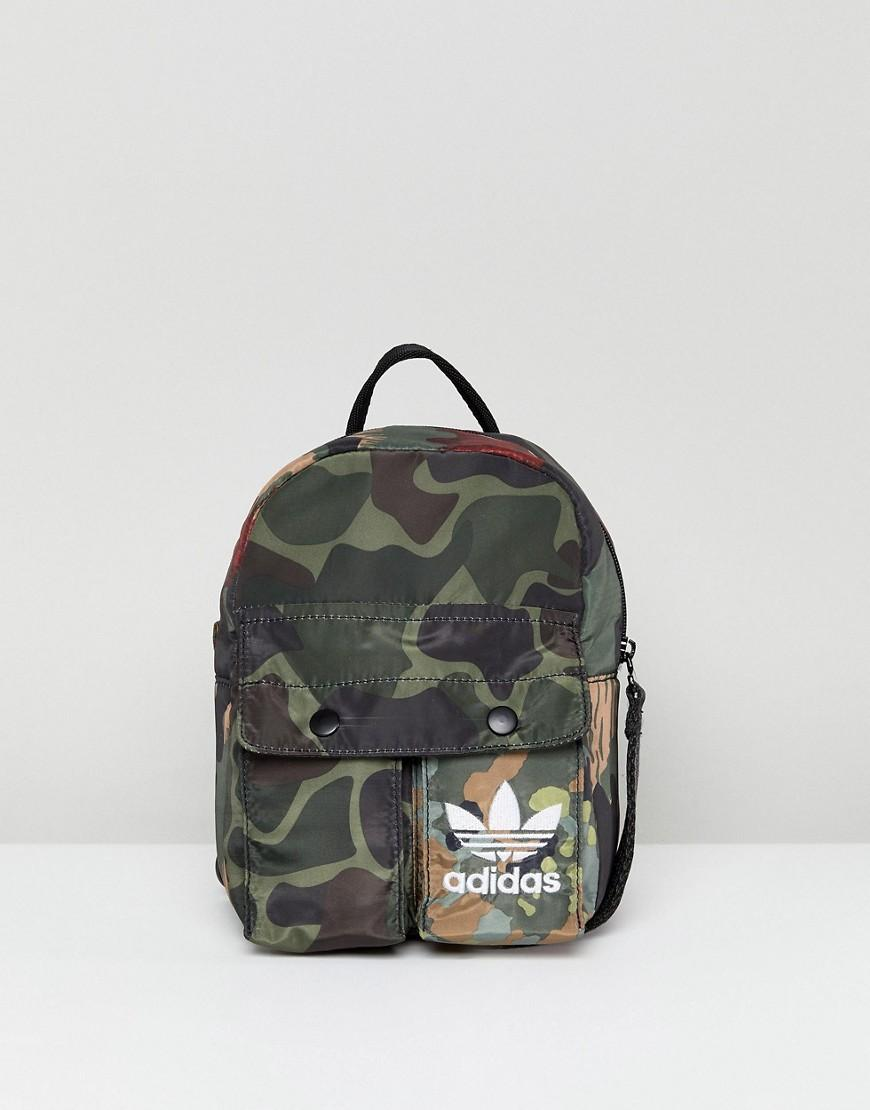 a6d480f83 Adidas Originals X Pharrell Williams Hu Camo Mini Backpack - Multi ...