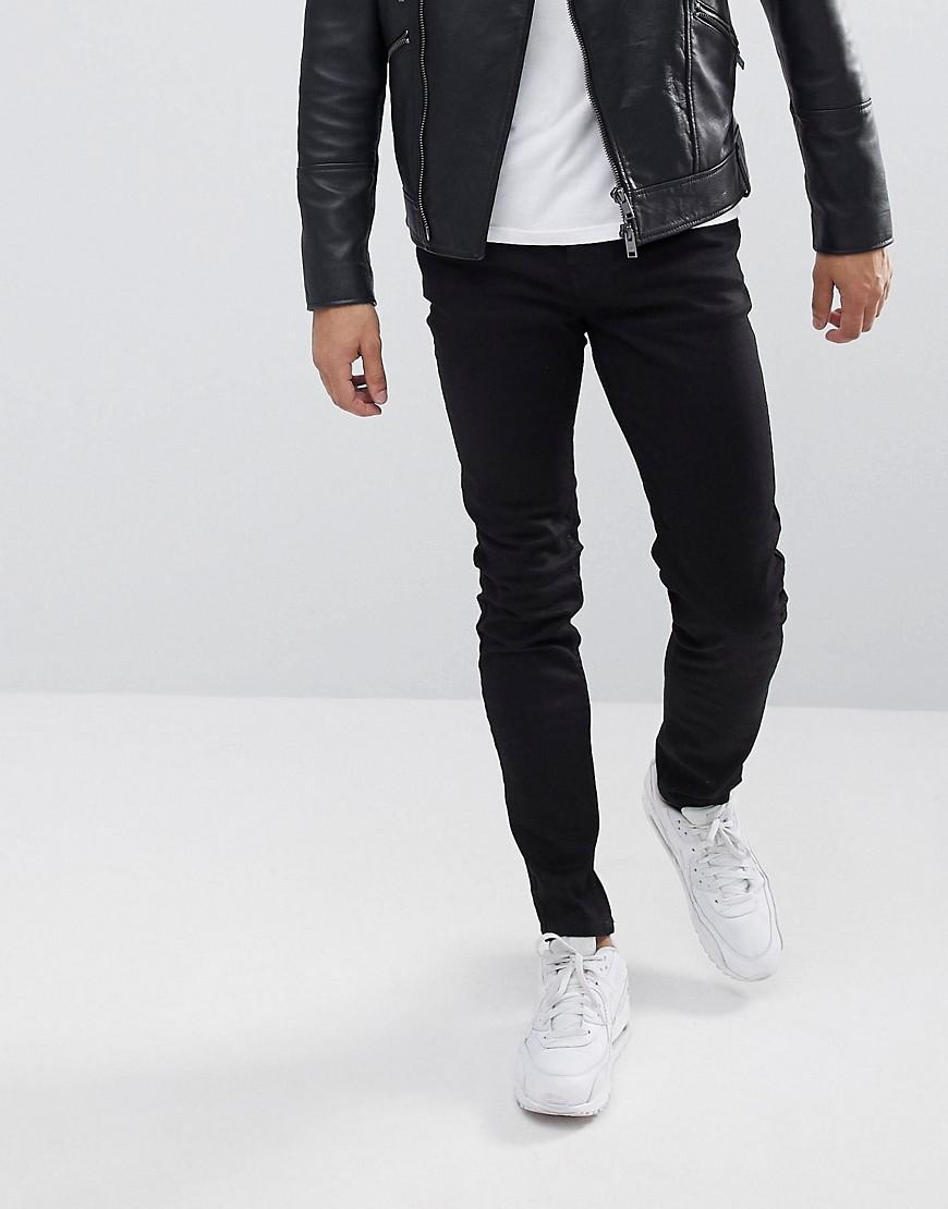 Wesc Alessandro Slim Fit Jeans In Black - Black