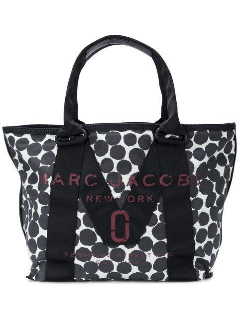 Marc Jacobs Logo Tote Bag - Blue