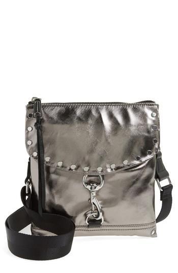 2b234946a Rebecca Minkoff Nylon Flap Crossbody Bag - Blue In Dusty Blue | ModeSens