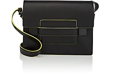 Delvaux Madame Pm Leather Shoulder Bag In Black