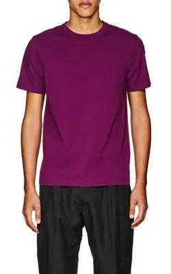 Officine Generale Cotton Jersey T-Shirt - Purple
