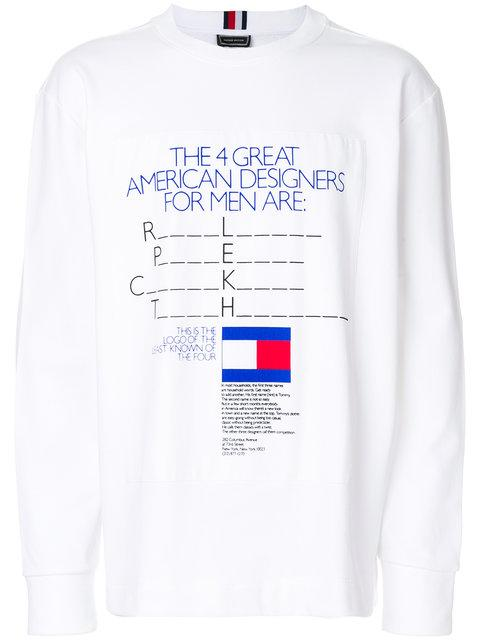 c13fb7d5e TOMMY HILFIGER. Tommy Hilfiger Ad Campaign T-Shirt ...