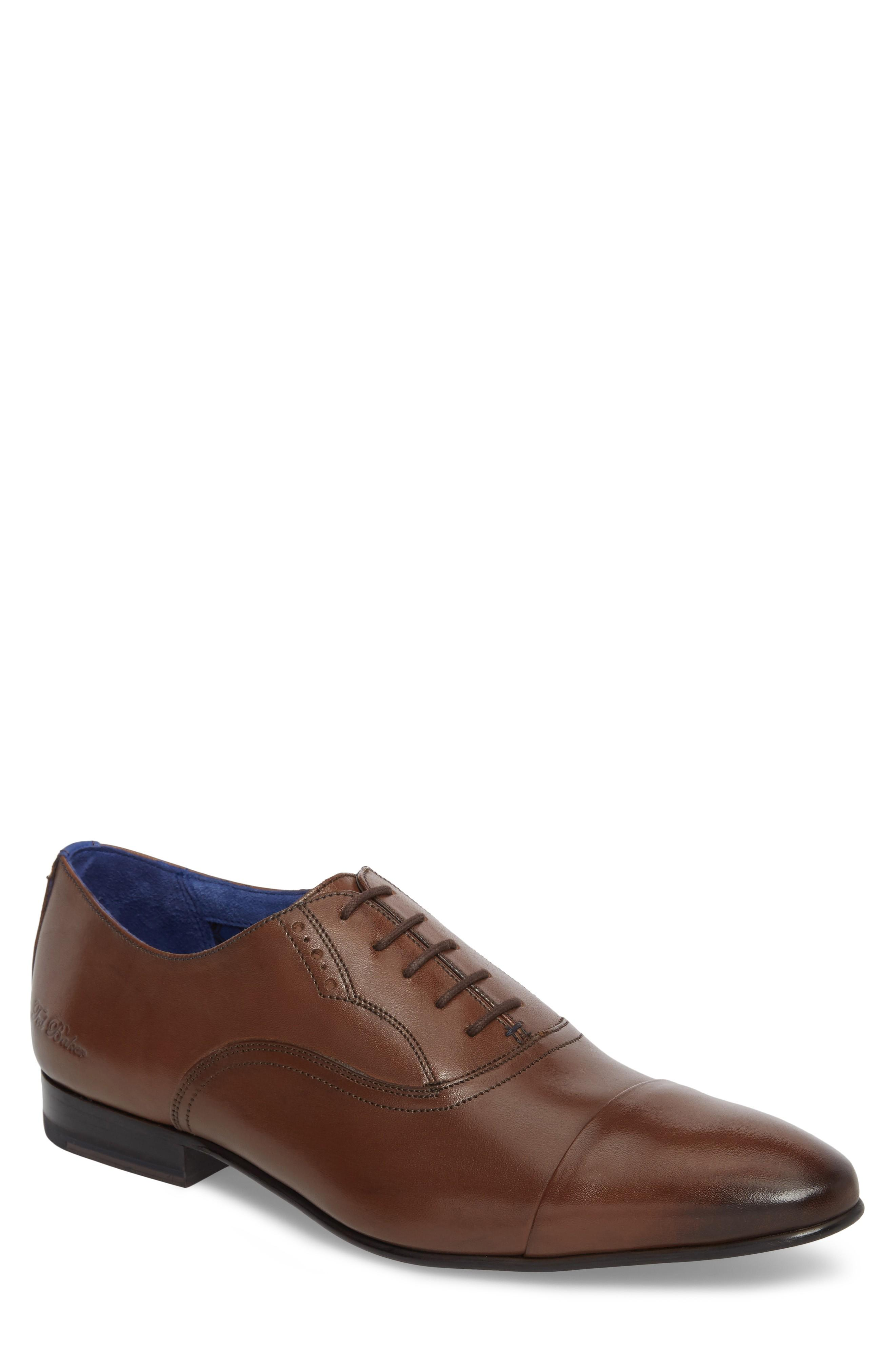 be784f7d1fd67d Ted Baker Murain Cap Toe Oxford In Brown Leather