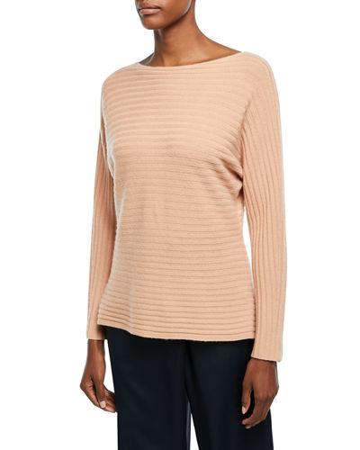 379384389c7 Vince Tie Back Wool   Cashmere Sweater In Blush