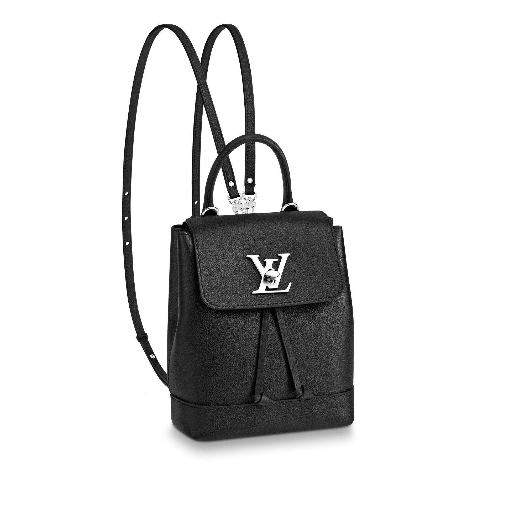 9c3e39294a8f Louis Vuitton Lockme Backpack Mini In Noir