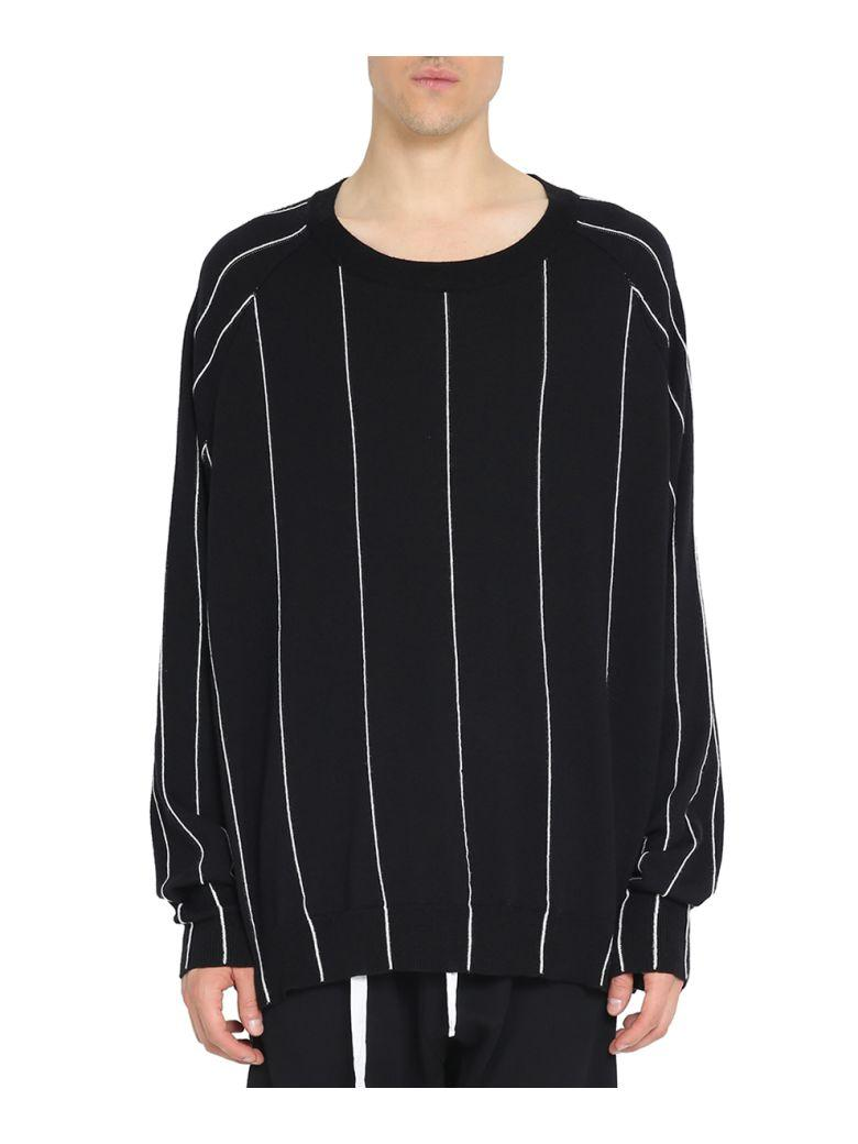 Haider Ackermann Wool And Silk Oversized Sweater In Black  56f83a175