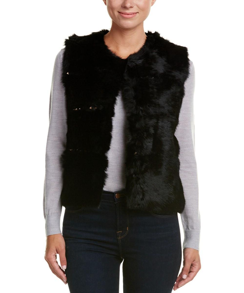 Love Token Caterina Vest In Black