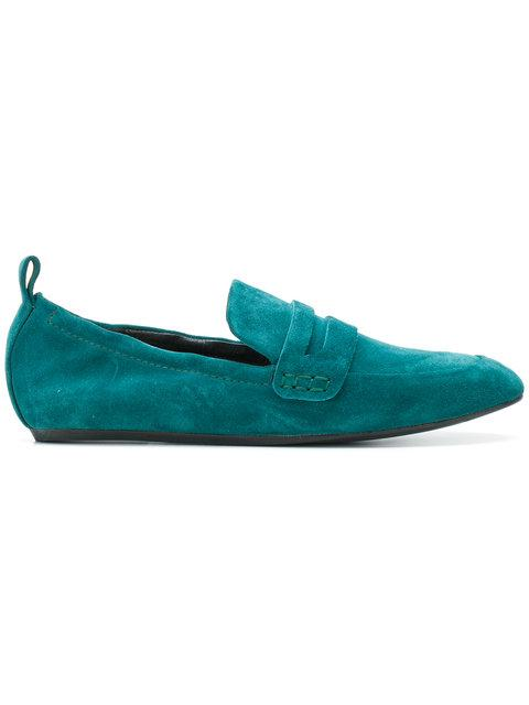 Lanvin Elasticated Loafers - Blue