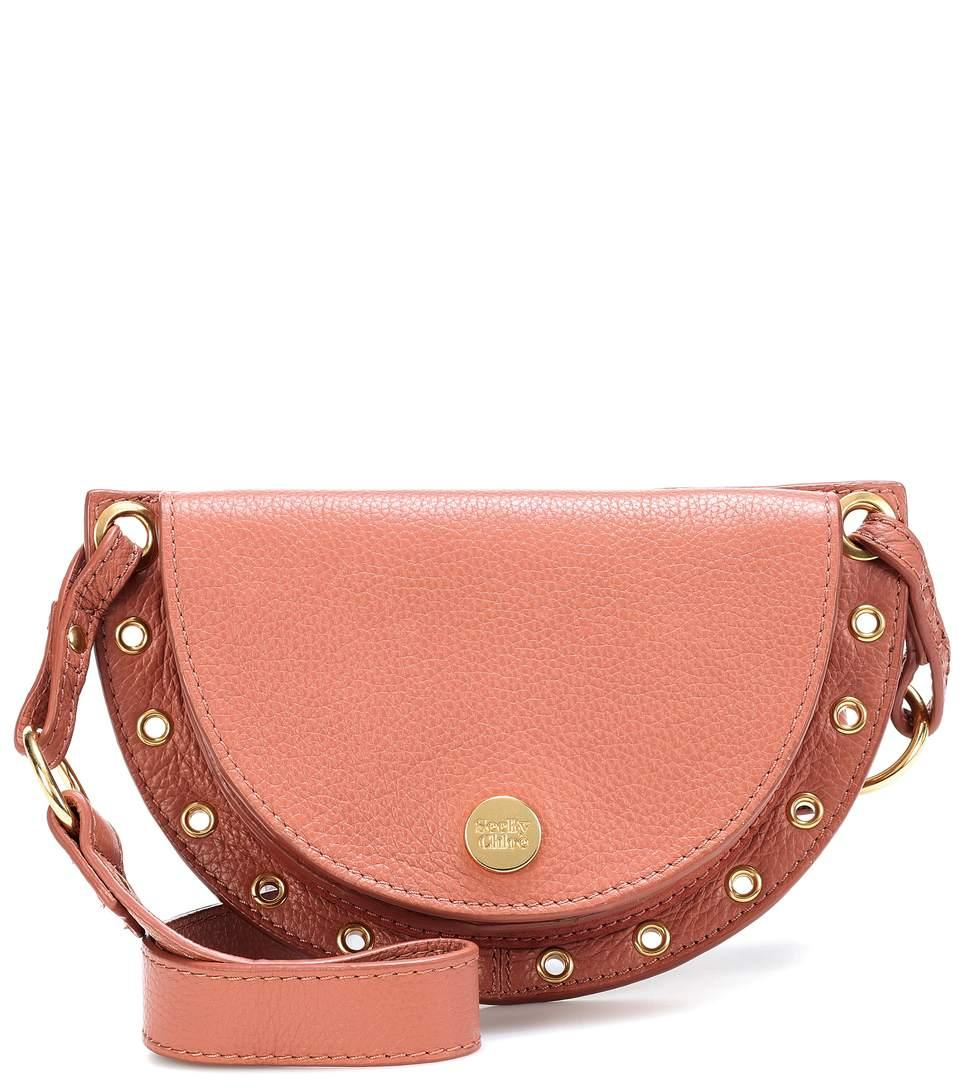 See By ChloÉ Kriss Belt Bag/fanny Pack With Grommet Trim In Pink
