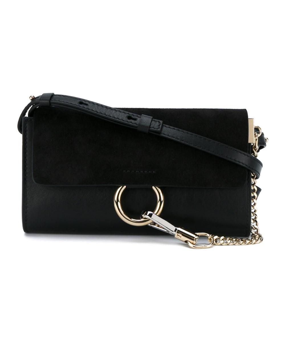 ChloÉ Women's  Black Leather Shoulder Bag