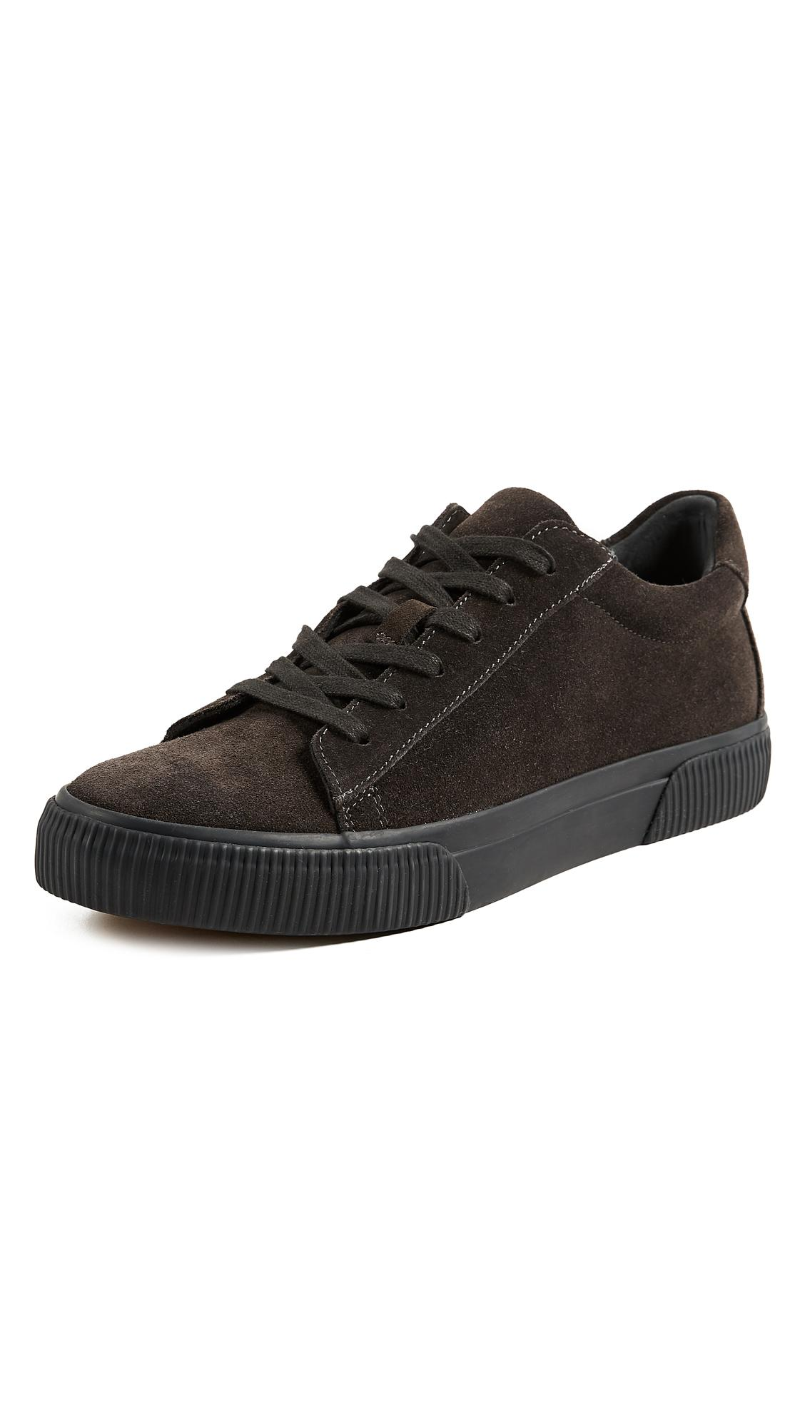Vince Kurtis Weatherproof Sneakers In Heather Carbon