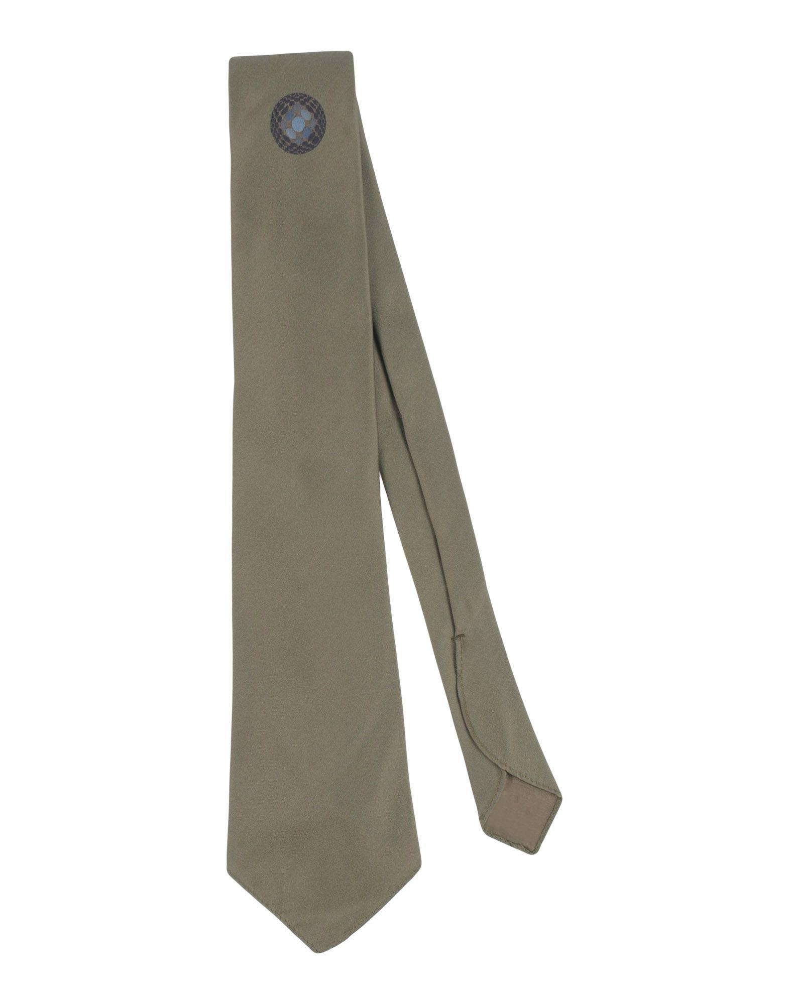 Tonello Ties In Military Green