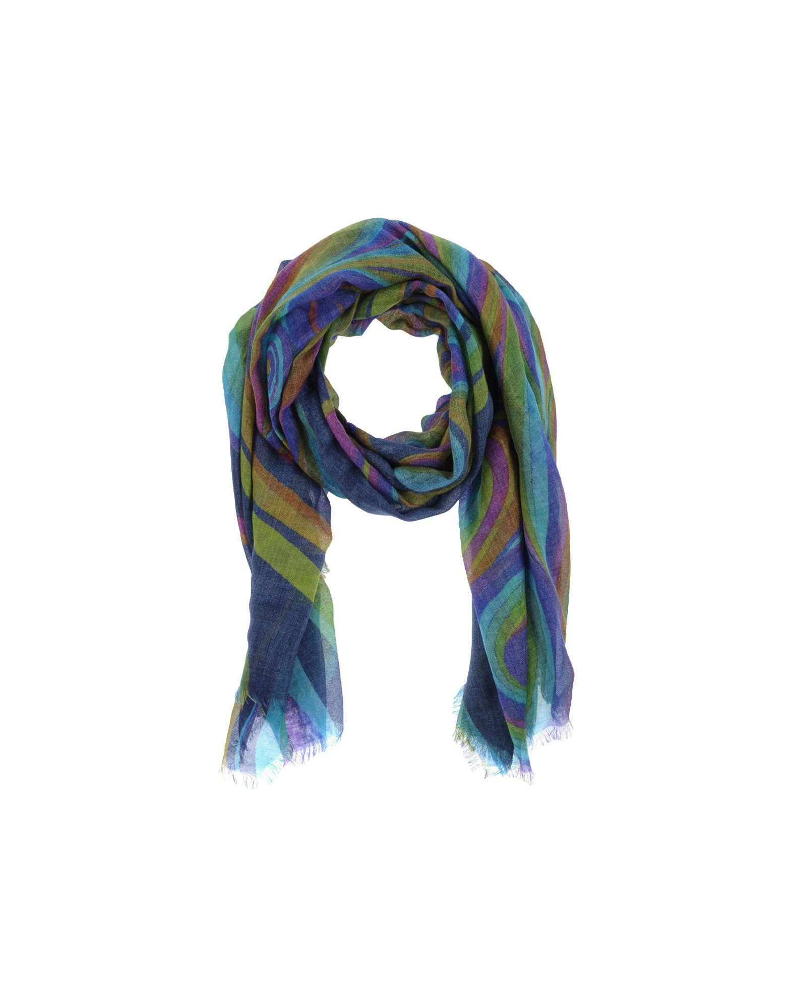 Cesare Gatti Scarves In Dark Blue