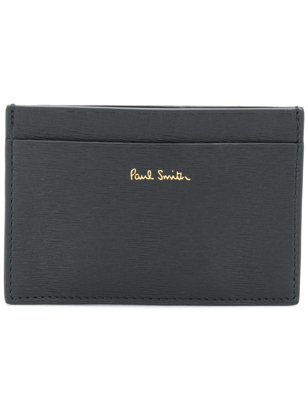 Paul Smith Credit Card Holder In Black