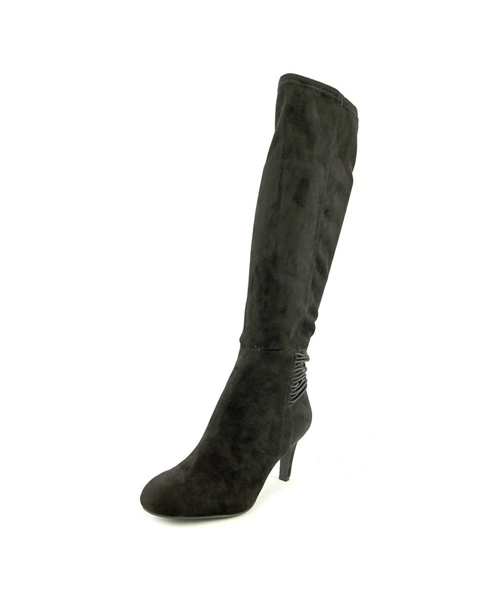 Bcbgeneration Rozz Women  Round Toe Synthetic Black Knee High Boot