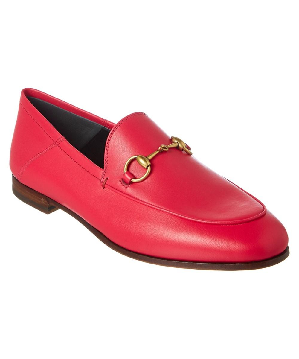 c8d4aa7d3717 Gucci Brixton Horsebit-Detailed Leather Collapsible-Heel Loafers In ...
