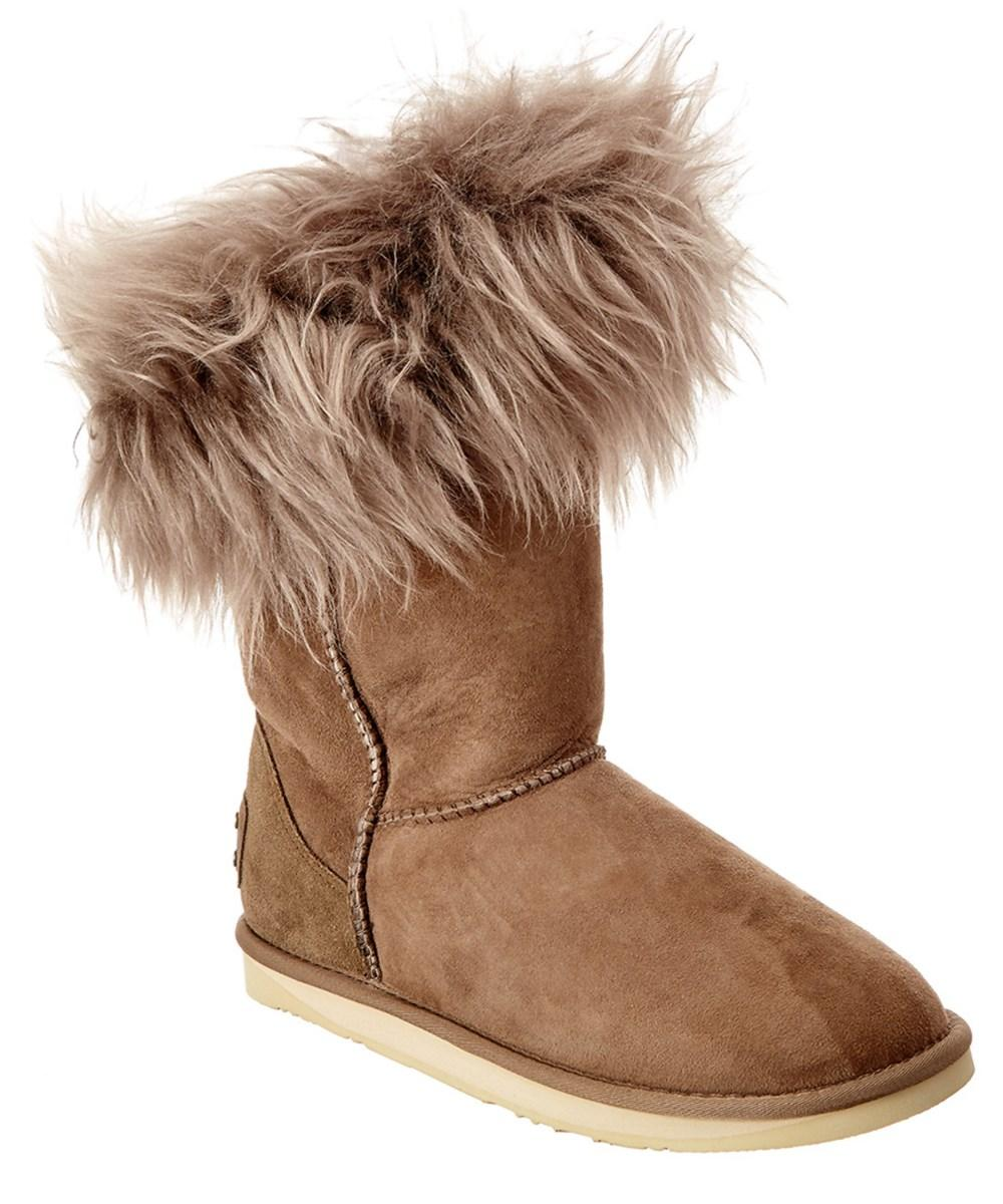 Australia Luxe Collective Foxy Suede Short Boot In Light Brown