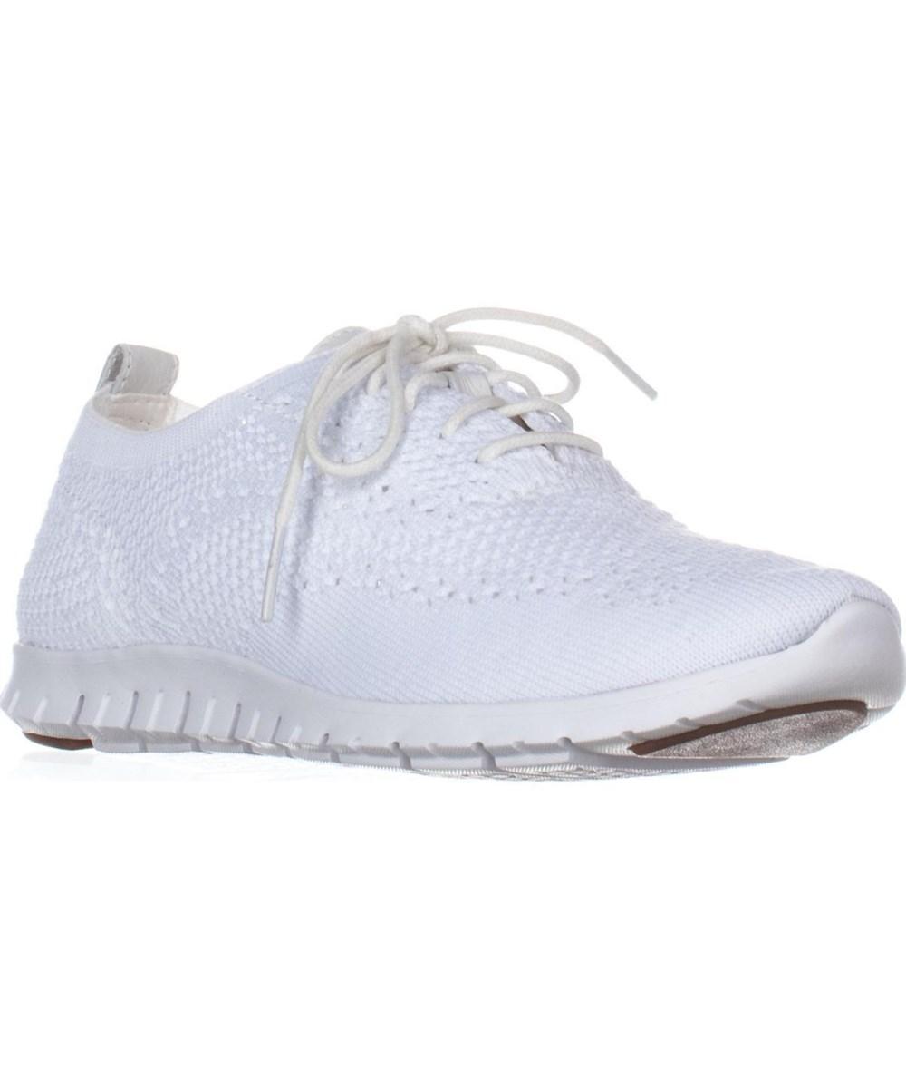 Cole Haan Zerogrand Stitchlite Oxford Fashion Sneakers, Optic White Knit