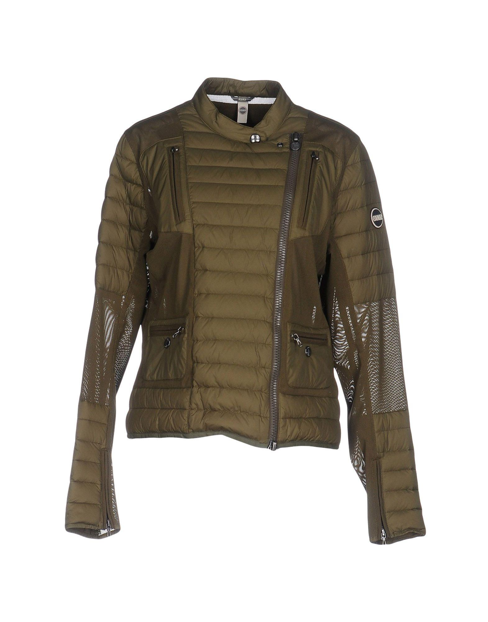 Colmar Down Jacket In Military Green