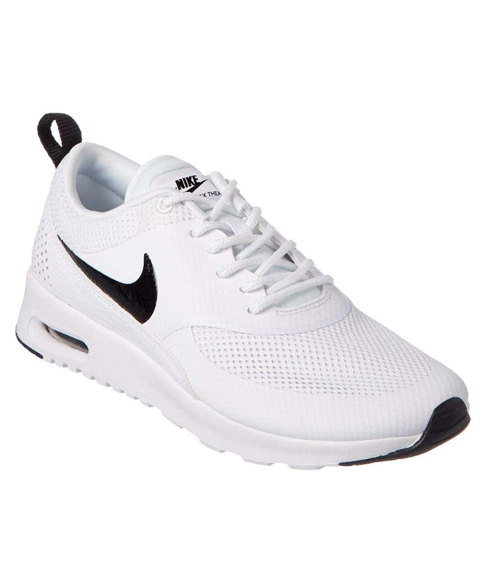 Nike Women's Air Max Thea Running Shoe In White/black