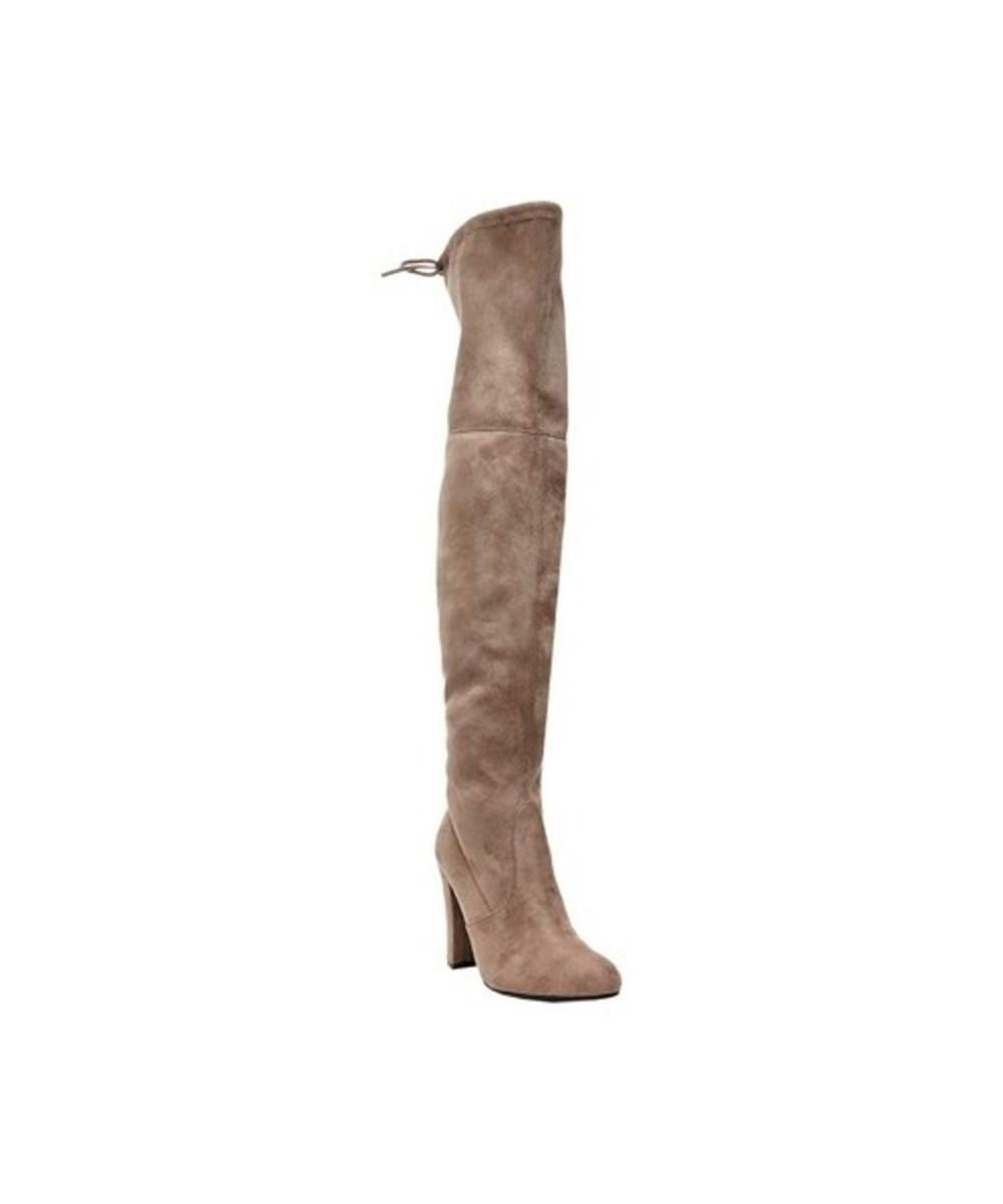 Steve Madden Women's   Gorgeous Over The Knee Boot In Taupe