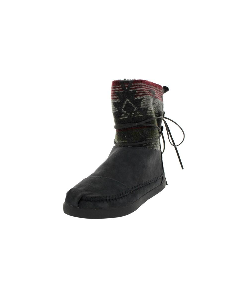 Toms Women's Nepal Jacquard Boots Boot In Grey