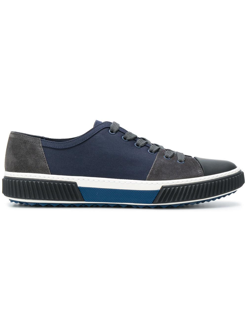 Prada Colour Blocked Sneakers