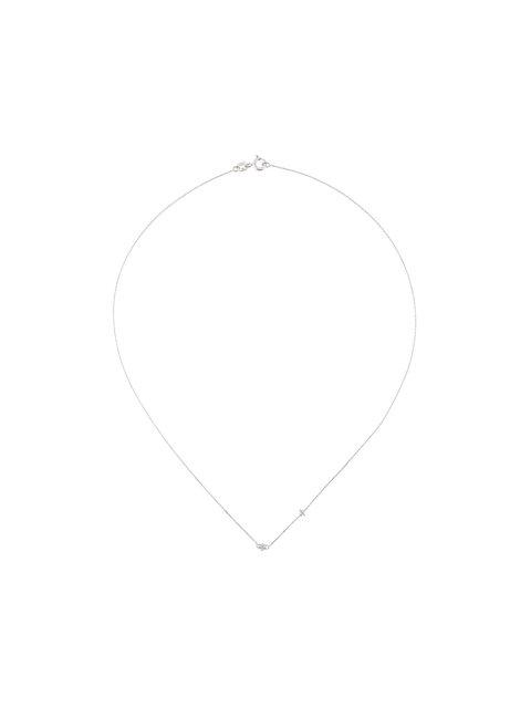 Wouters & Hendrix Gold 'baguette' Diamond Necklace