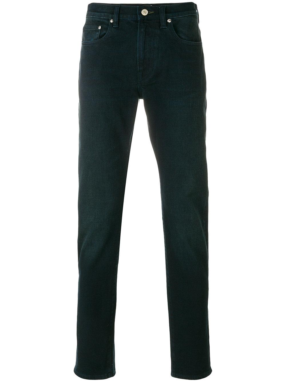 Ps By Paul Smith Super Soft Cross-hatch Jeans