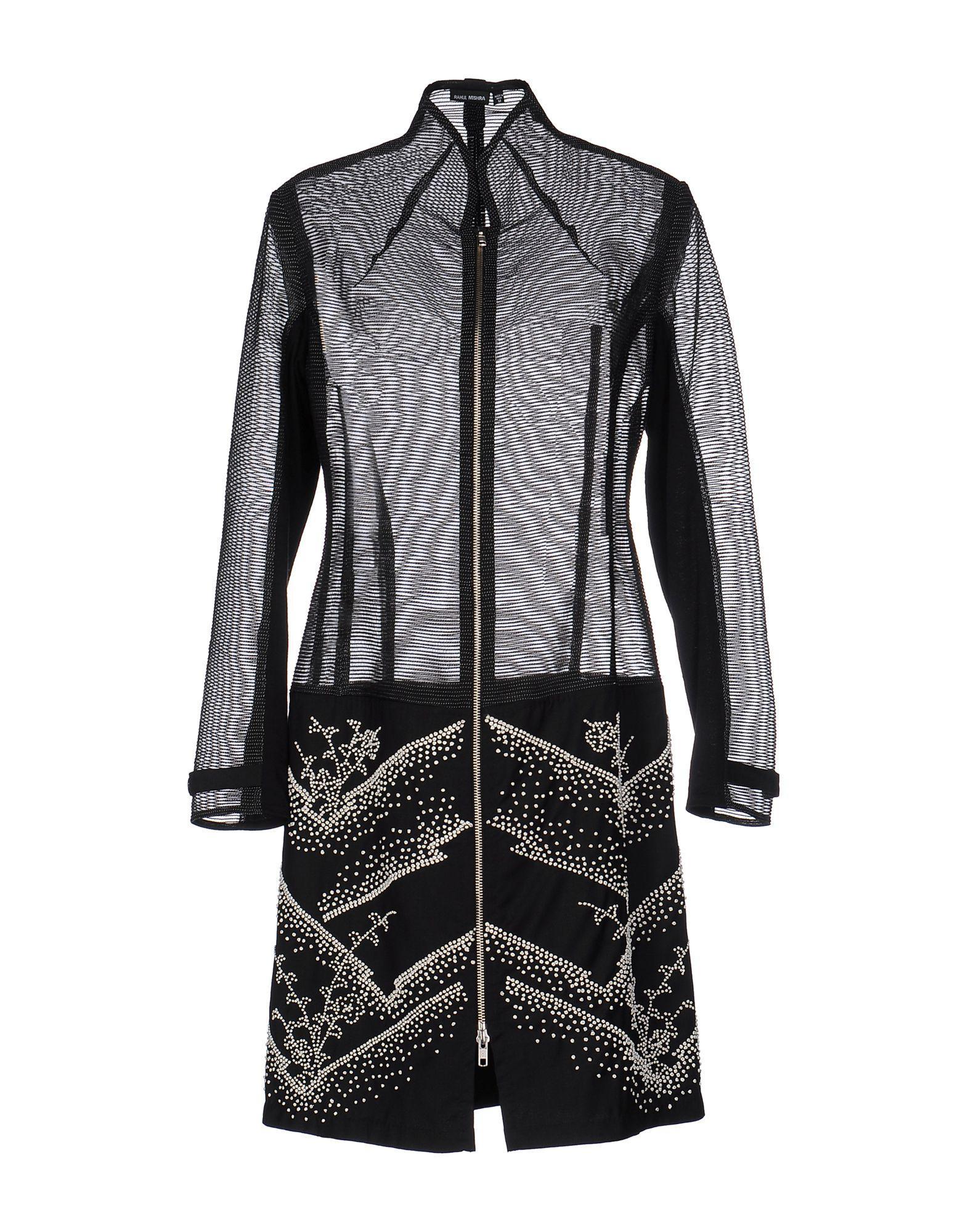 Rahul Mishra Full-length Jacket In Black