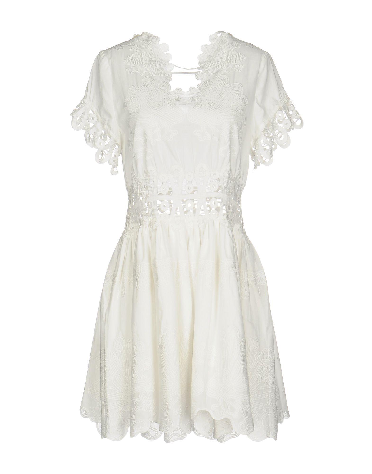 Jovonna Short Dresses In White