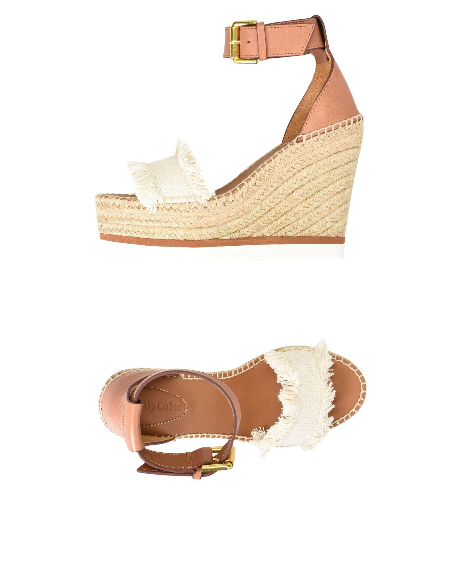 See By ChloÉ Espadrilles In Ivory