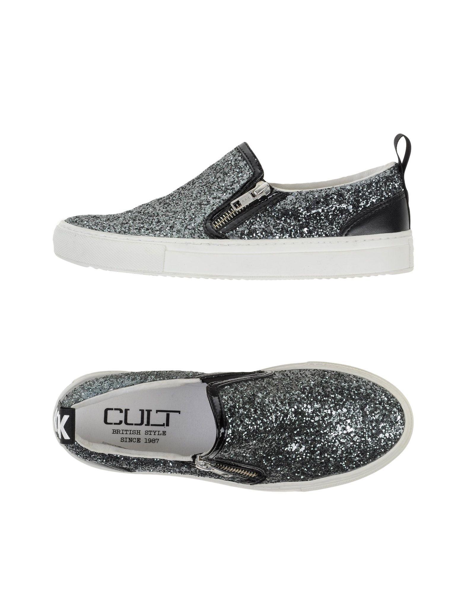 Cult Sneakers In Steel Grey
