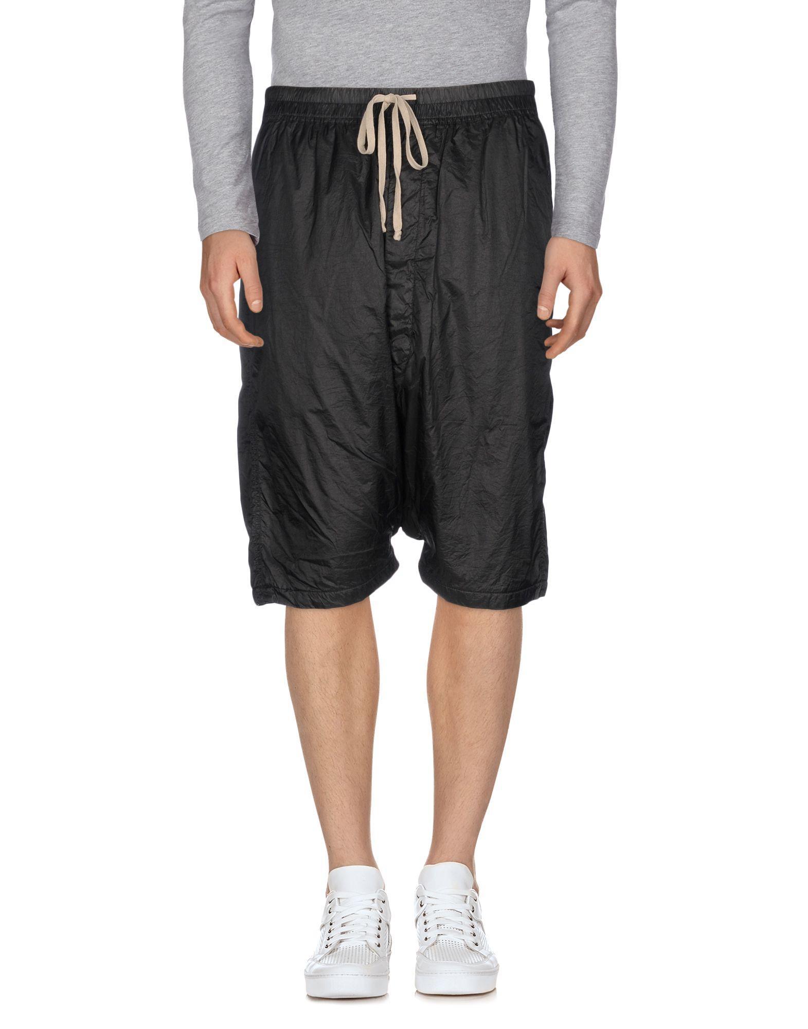 Rick Owens Drkshdw Shorts & Bermuda In Black