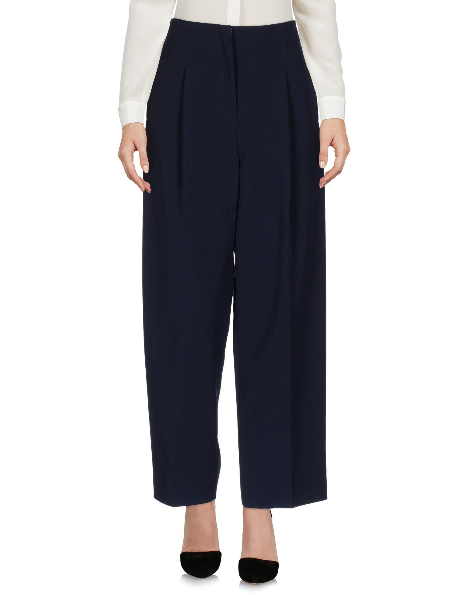 Parden's Casual Pants In Dark Blue
