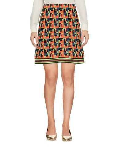 M Missoni Knee Length Skirt In Orange