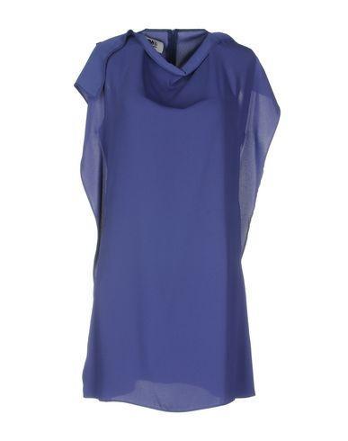 Mm6 Maison Margiela Short Dresses In Purple