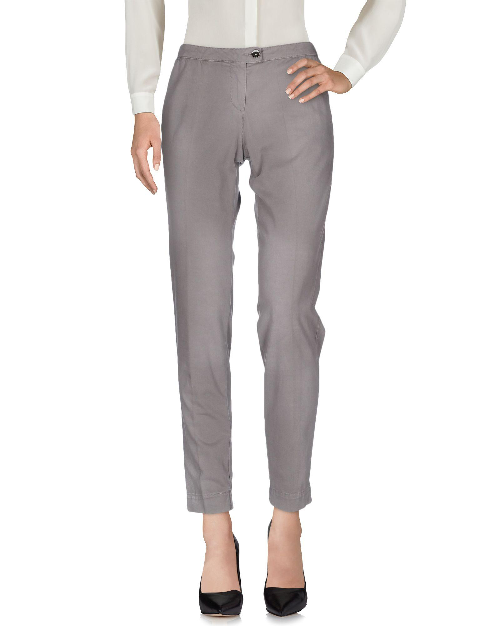 Armani Jeans Casual Pants In Grey